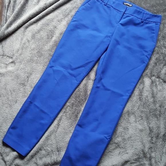 8aa370ea364 Express Pants - Women s Express Size 2R Royal Blue Dress Pants